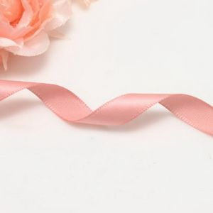 Single faced Colour Ribbons, Satin, pink, 4.6m x 0.9cm, (SDD221)